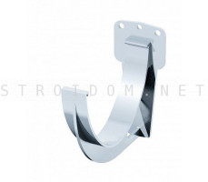 Кронштейн крюк желоба ПВХ 125 x 82 RAL 9003 белый Фаракс Faracs