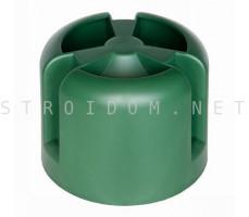 Колпак кровельный HupCap 110 Зеленый RAL 6005 Кровент Krovent