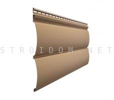 Сайдинг Premium Блок Хаус Капучино-3,6 Деке Docke