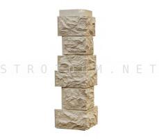 Угол наружный для фасадной панели Северный камень/Сланец Перламутрово-бежевый 0,139 x 0,463 Нордсайд