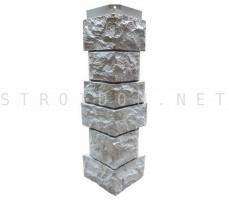 Угол наружный для фасадной панели Северный камень/Сланец Серый 0,139 x 0,463 Нордсайд