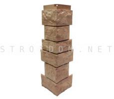 Угол наружный для фасадной панели Северный камень/Сланец Терракотовый 0,139 x 0,463 Нордсайд