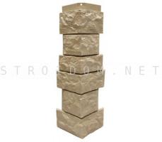 Угол наружный для фасадной панели Северный камень/Сланец Бежевый 0,139 x 0,46 Нордсайд