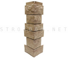 Угол наружный для фасадной панели Северный камень/Сланец Песочный 0,139 x 0,463 Нордсайд