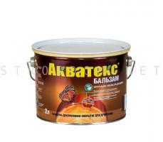 Натуральное масло для дерева БАЛЬЗАМ Махагон 2л Акватекс