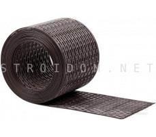 Вентиляционная лента ПВХ 10см x 5м Черный Фаракс Faracs
