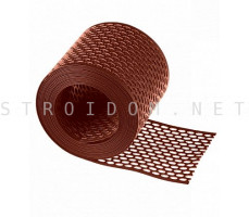 Вентиляционная лента ПВХ 10см x 5м Красный Фаракс Faracs
