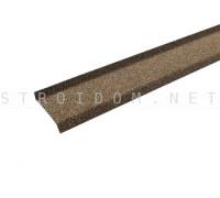 Цокольная планка Hauberk Песчаный Технониколь