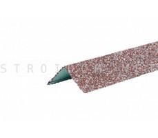Уголок металлический внешний Hauberk Мраморный 50x50x1250мм Технониколь