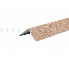 Уголок металлический внешний Hauberk Античный 50x50x1250мм Технониколь