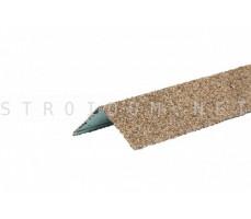 Уголок металлический внешний Hauberk Песчаный 50x50x1250мм Технониколь