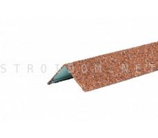Уголок металлический внешний Hauberk Красный 50x50x1250мм Технониколь