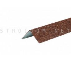 Уголок металлический внешний Терракотовый Технониколь