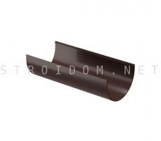 Желоб водосточный PREMIUM 3м. Шоколад Деке Docke