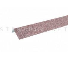 Наличник оконный металлический Hauberk Мраморный 50x100x1250мм Технониколь