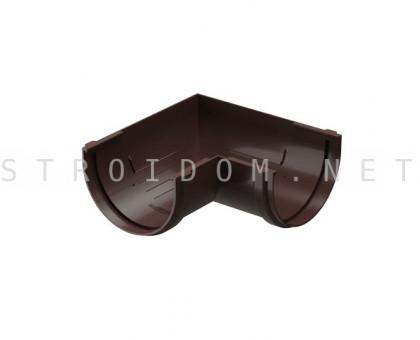 Угловой элемент желоба 90° универсальный PREMIUM Шоколад Деке Docke