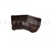 Угловой элемент желоба 135° PREMIUM Шоколад Деке Docke