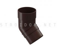 Колено 45° PREMIUM Шоколад Деке Docke