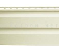 Альта-Сайдинг виниловый кремовый 3,66м. Альта Профиль
