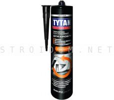 Герметик каучуковый для кровли 310мл. бесцветный эластичный Титан Professional Титан Tytan
