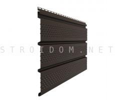 Софит T4 Стандарт с полной перфорацией 3,0м. Шоколад Деке Docke