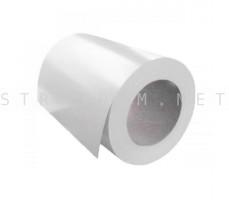 Рулон с полимерным покрытием 0,35мм. x 1250мм. RAL 9003 сигнальный белый