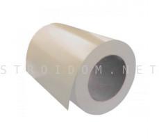 Рулон с полимерным покрытием 0,45мм. x 1250мм. RAL 1015 светлая слоновая кость