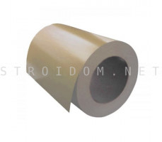 Рулон с полимерным покрытием 0,45мм. x 1250мм. RAL 1014 слоновая кость