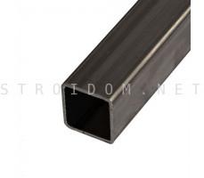 Столб для забора труба профильная стальная 80мм. x 80мм. x 2мм. 1п.м.