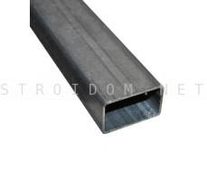 Лага для забора труба профильная стальная 40мм. x 20мм. x 1,5мм. 1 п.м.