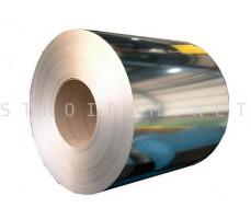 Рулон оцинкованный 0,4мм. x 1250мм. Цинк