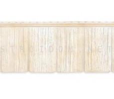 Фасадные панели Я-фасад Сибирская дранка Слоновая кость Гранд Лайн Grand Line