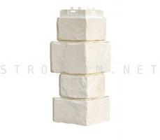 Наружный угол крупный камень Молочный 0,12м. x 0,39м. Гранд Лайн Grand Line