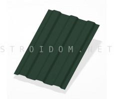 Профнастил С10 h=1,8м. RAL 6005 зеленый мох 0,4мм. Россия