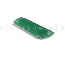 Профиль соединительный разъемный для поликарбоната 4-10мм. 6м. Зеленый