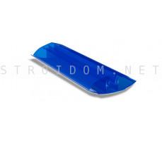 Профиль соединительный разъемный для поликарбоната 4-10мм. 6м. Синий