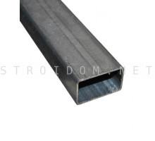 Лага для забора труба профильная стальная 40мм. x 20мм. x 1,35мм. 1 п.м.