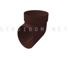 Колено сливное ПВХ Grand Line Стандарт RAL 8017 Шоколад