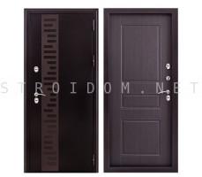 Дверь входная металллическая УРАЛ МП (С ДЕКОРОМ)