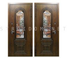 Дверь входная ФОРТ (С КОВКОЙ)