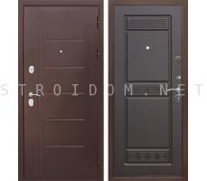 Входная дверь  Троя Антик ВЕНГЕ 10 см