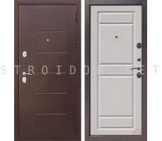 Входная дверь  Троя Антик БЕЛЫЙ ЯСЕНЬ 10 см