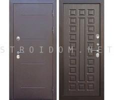Входная морозостойкая дверь c ТЕРМОРАЗРЫВОМ 11 см Isoterma Медный Антик ВЕНГЕ