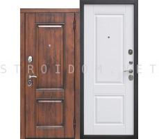 Входная дверь  Вена Винорит Патина БЕЛЫЙ МАТОВЫЙ