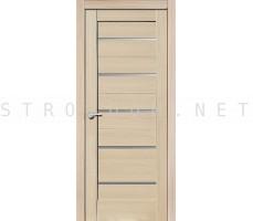 Porta Bella: Дверь Эко Flex Модерн стекло Самшит Белый 700x2000мм