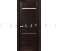 Porta Bella: Дверь Эко Flex Модерн стекло Черный Бархат 700x2000мм