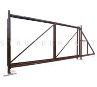 Откатные ворота 3.5 м x 1.8 м