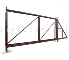 Откатные ворота 4,0 м x 1.8 м